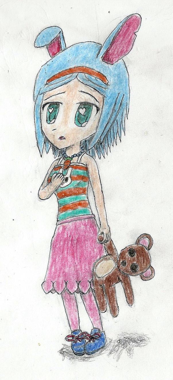 little bunny girl by JofDragon