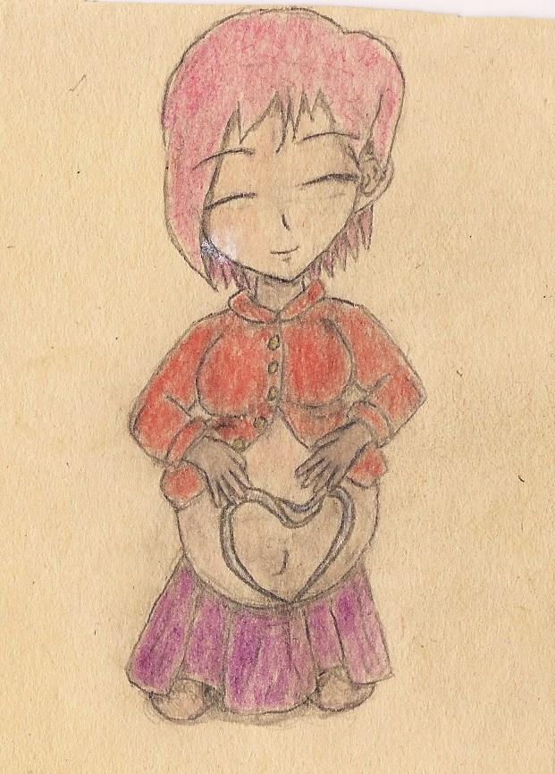 pregnant girl F by JofDragon