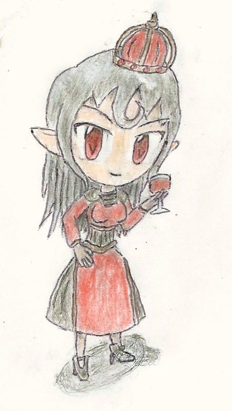 chibi vampire queen or princess by JofDragon