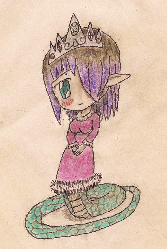 chibi princess laima by JofDragon