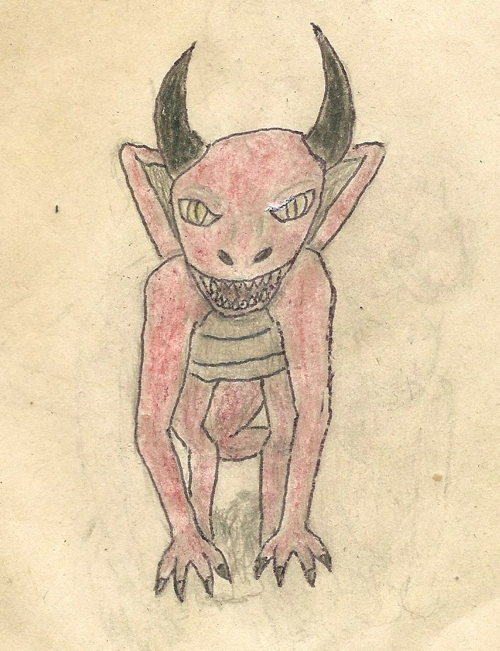 random dragon drawing by JofDragon