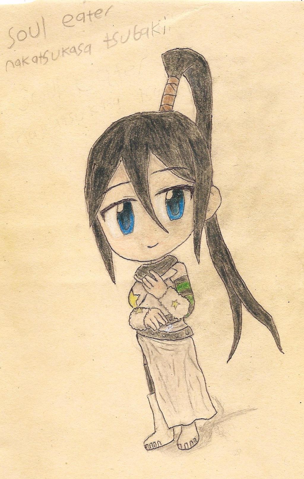 fan art: Nakatsukasa Tsubaki by JofDragon