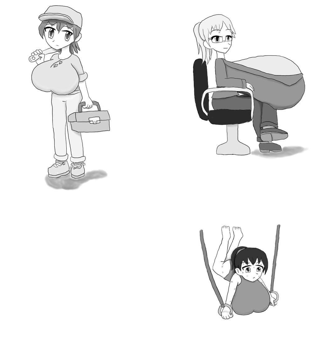 random drawing 2 by JofDragon