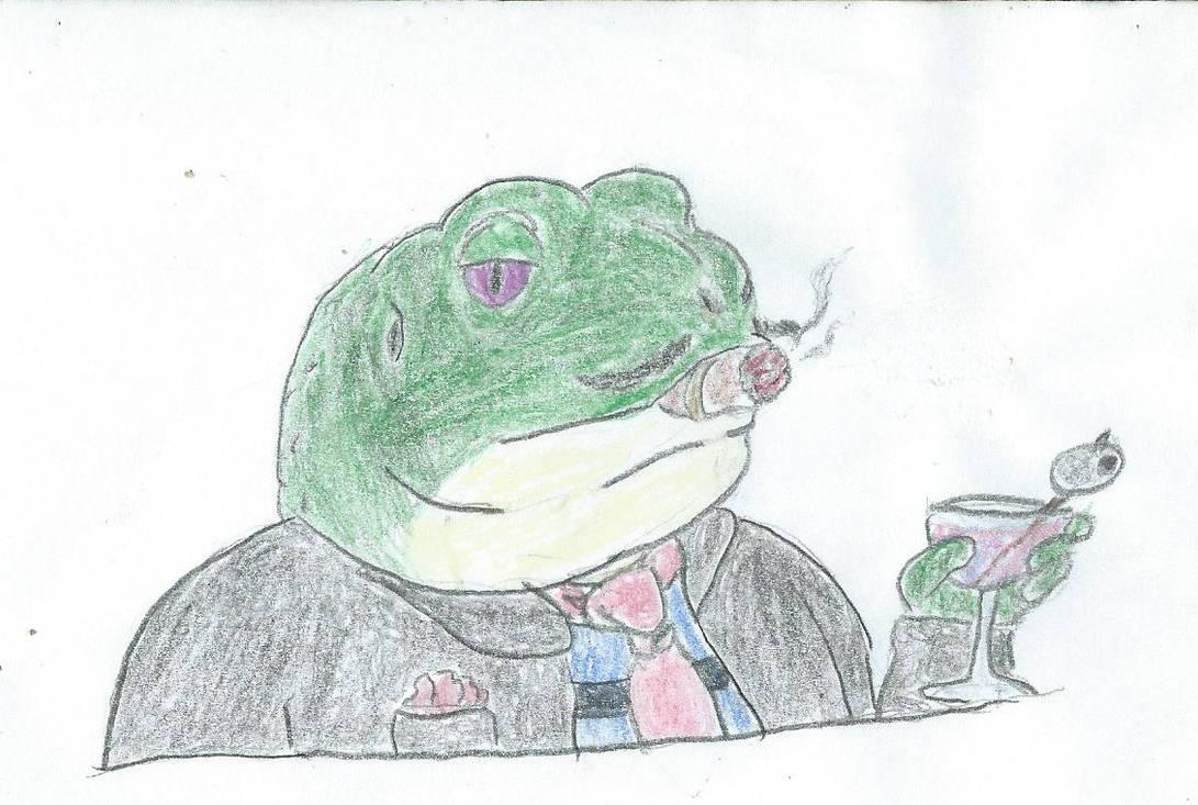 frog by JofDragon