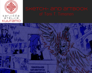 Sketch- and artbook of Toni T. Timonen by ToniTimonen
