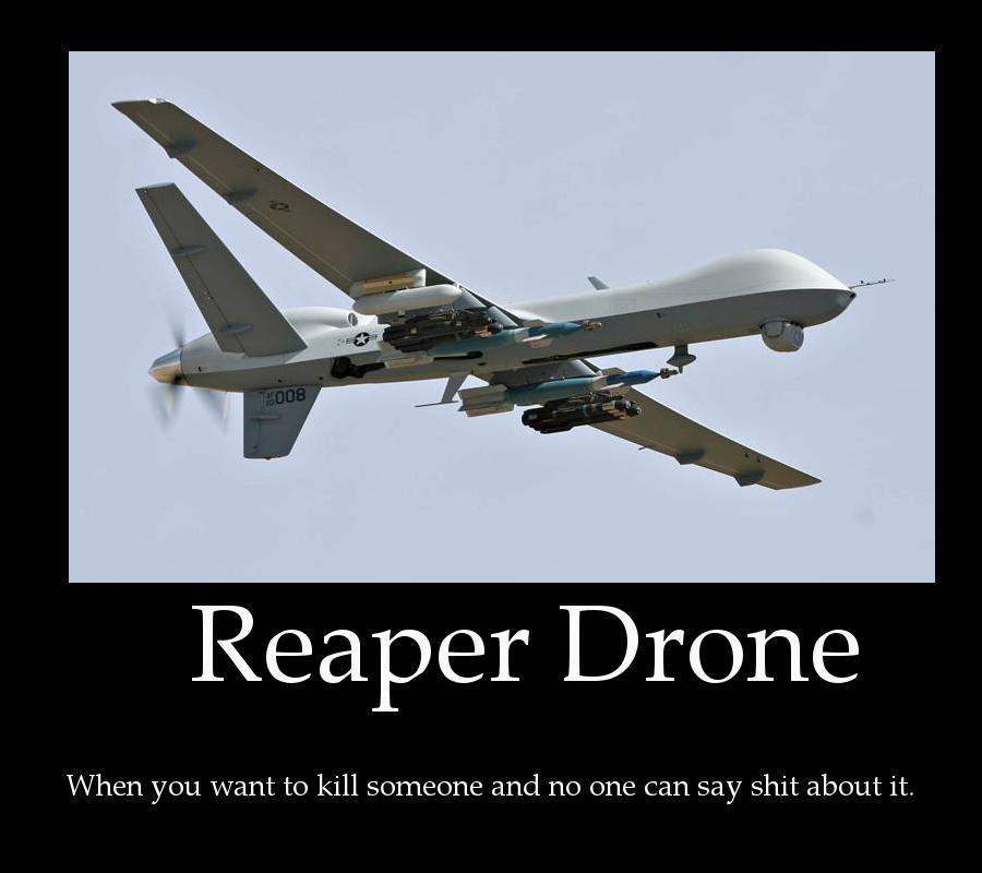 Reaper Drone By ZuStorm