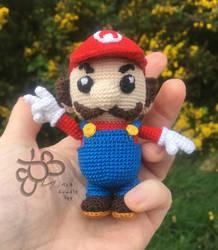 Super Mario Amigurumi Micro Crochet Doll
