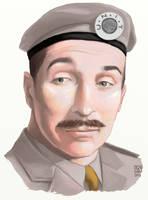 Nicholas Courtney as The Brigadier by The-Tinidril