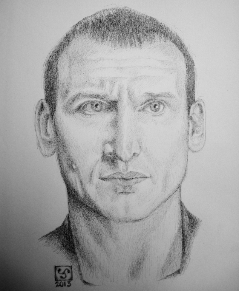 Christopher Eccleston as The Doctor by The-Tinidril
