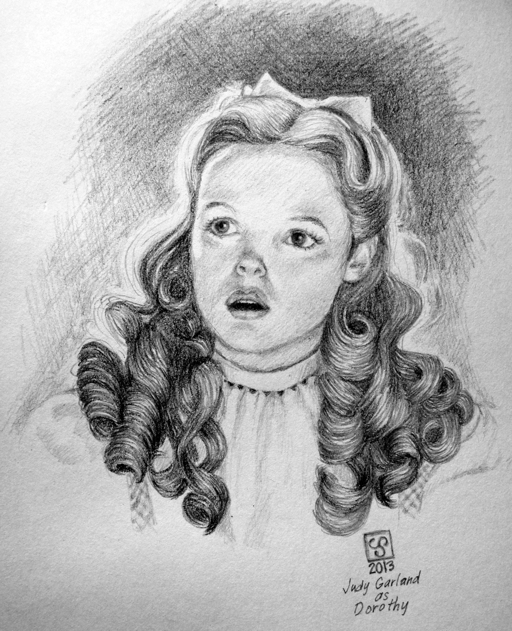 Judy Garland as Dorothy #DSC by The-Tinidril on DeviantArt