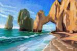 Mexican Beach - SDJ by The-Tinidril