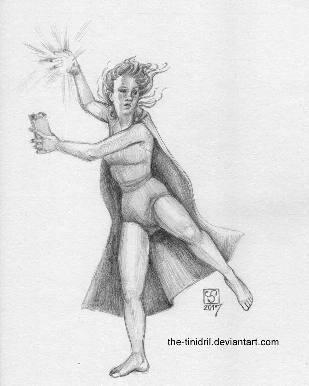Lore Bender - 20-DrawEverythingJune2 by The-Tinidril
