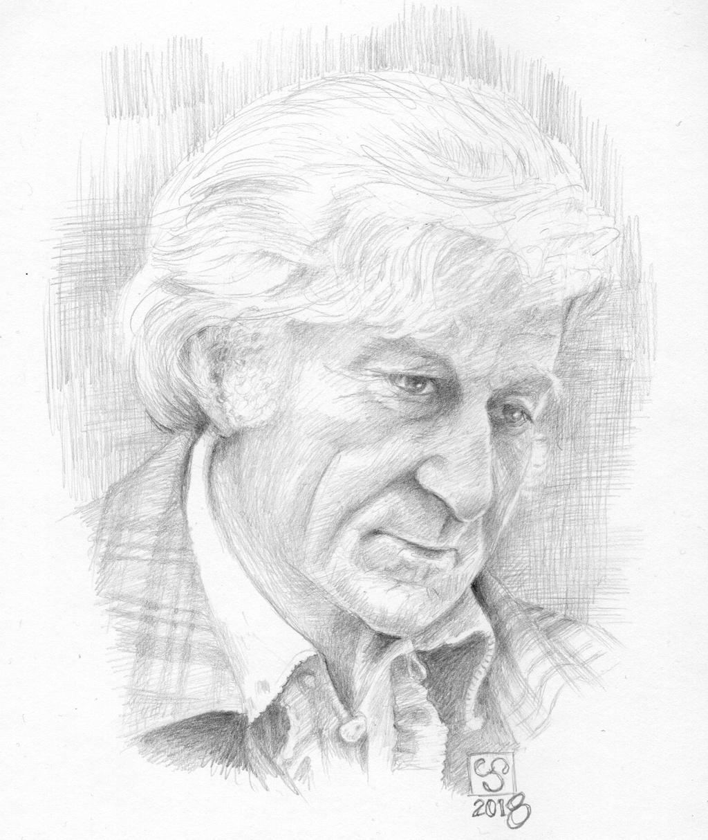 Jon Pertwee - Third Doctor by The-Tinidril