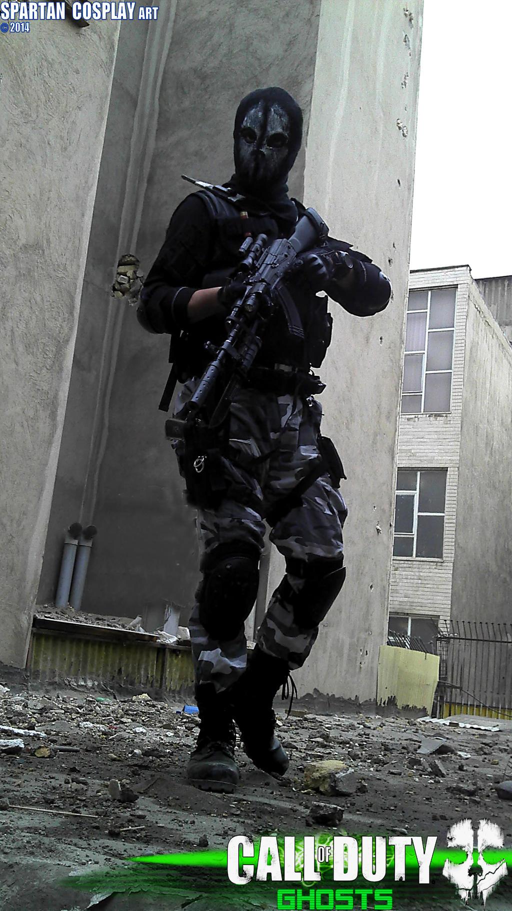 call of dutyghostscosplay artlogan walker by