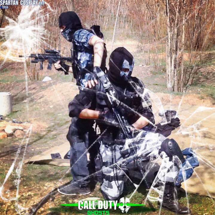 Call Of Duty Ghosts Custom Cosplay By Spartanalexandra On Deviantart