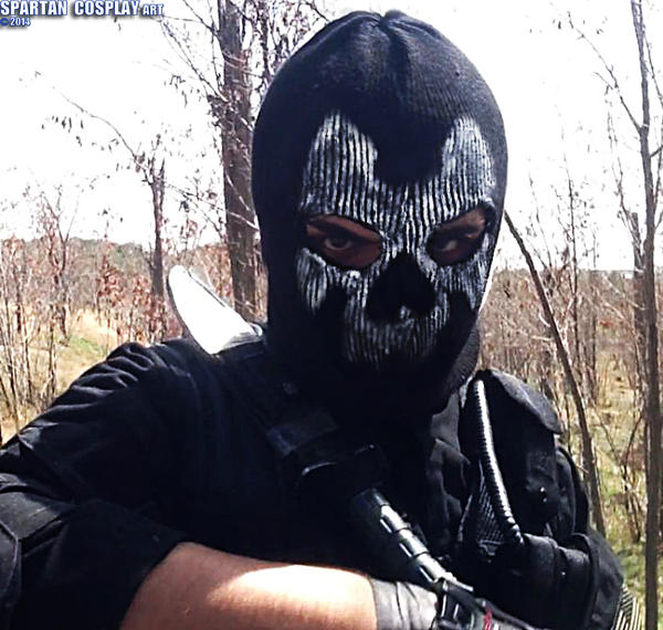 Call Of Duty Ghosts Ajax Cosplay (Mask) By