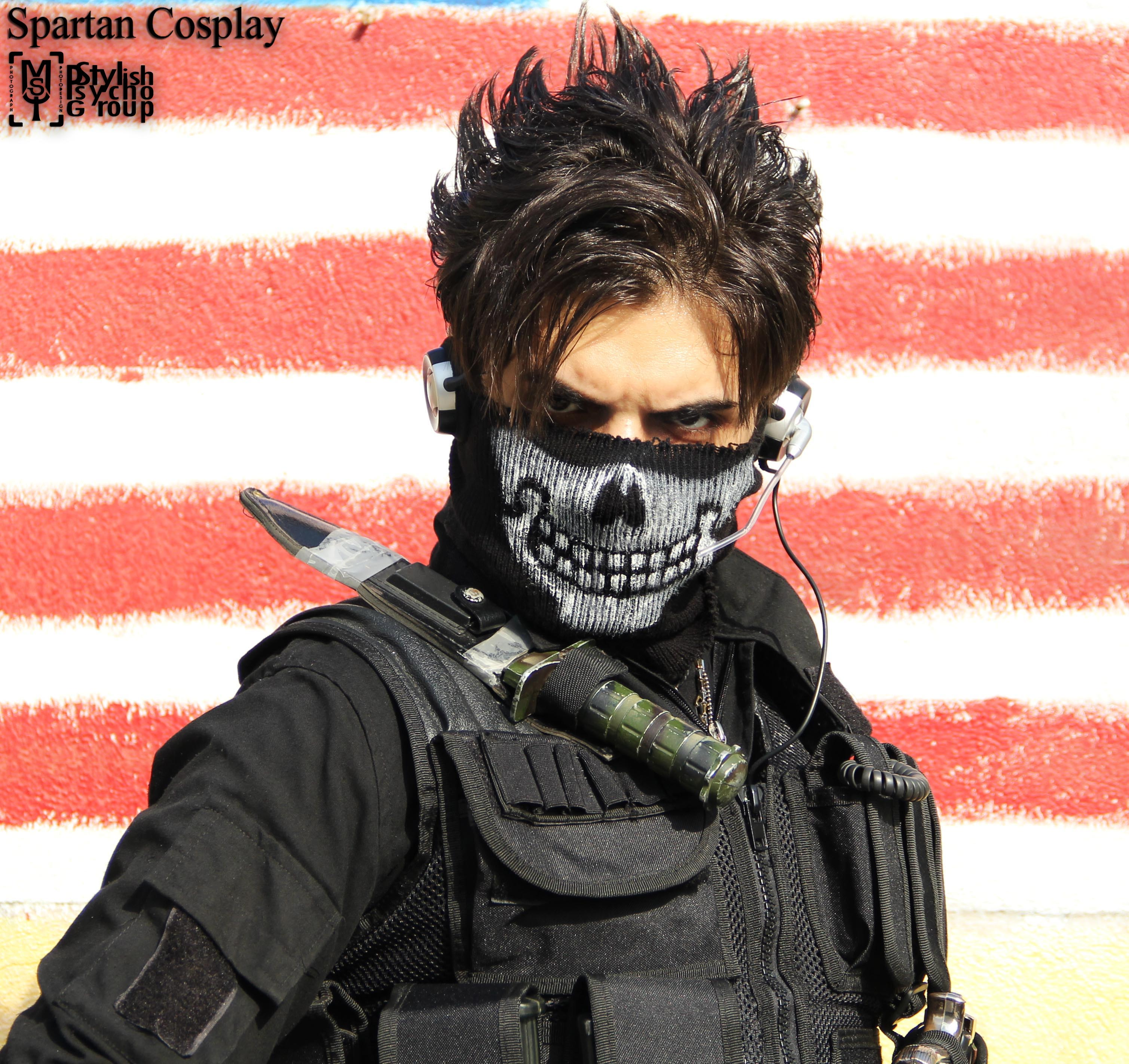 Call Of Duty Ghost Logan Walker Best Cosplay Art By: Call Of Duty Ghost Cosplay By SPARTANalexandra On DeviantArt
