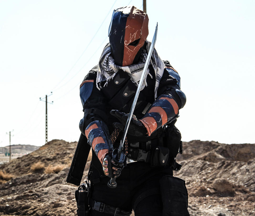deathstroke arrow cosplay - photo #6