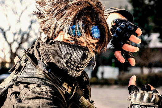 Lars Alexandersson Cosplay-Ghost Warrior