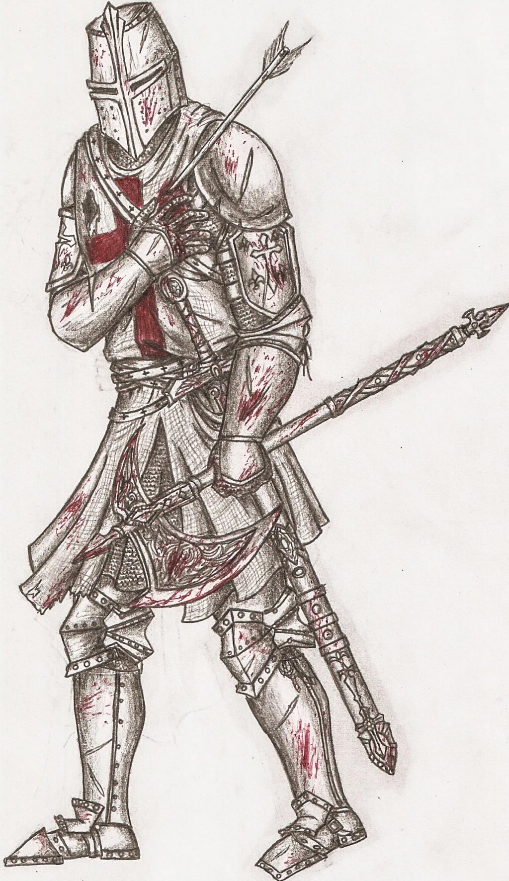 Temple Knight(Templar) by SPARTANalexandra on DeviantArt