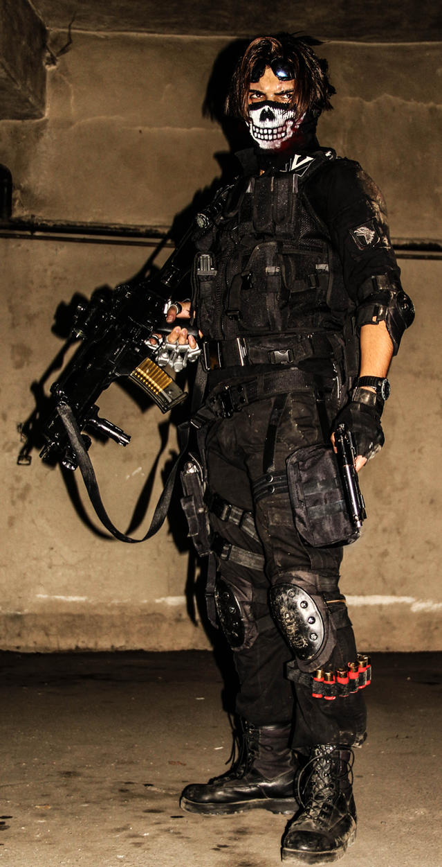 ghost warrior call of duty cosplay by spartanalexandra