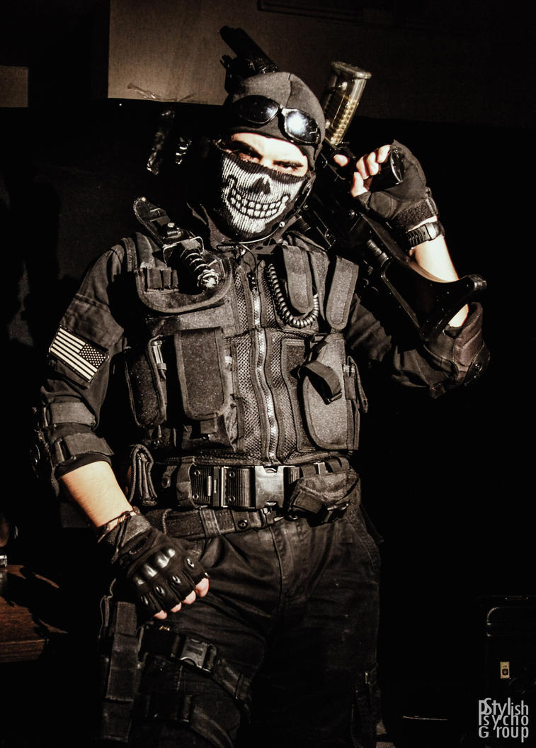 Call of duty ghosts cosplay