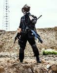 Lars Alexandersson Cosplay-Ghost Warrior by SPARTANalexandra