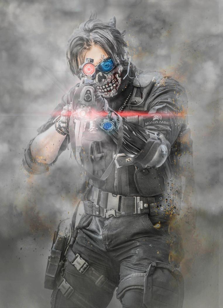 Ghost Warrior_Cyborg by SPARTANalexandra