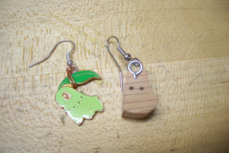 two new earrings by MagicalMegumi