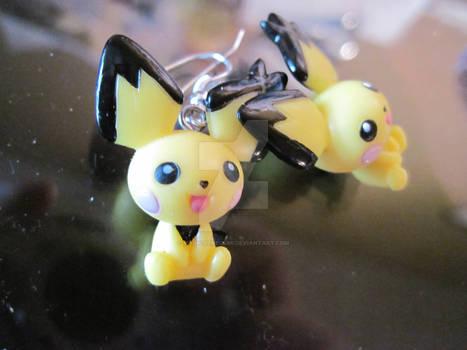 pichu earrings