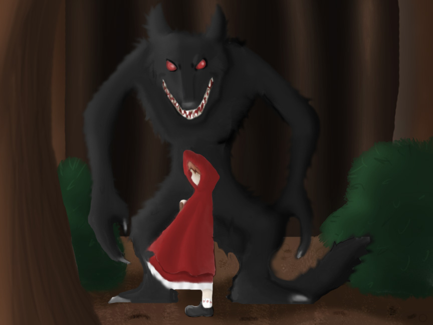 plot and character analysis in little red riding hood and the company of wolves The company of wolves and this little known reworking of little red riding hood renders the old story as a tale of as the red riding hood character.