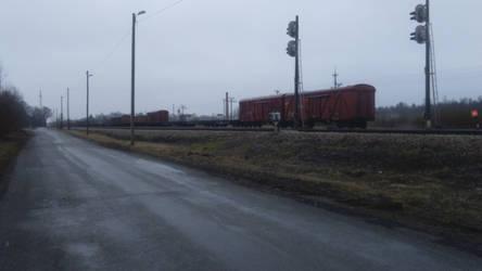 Gloomy railway by Joonas08Joonas