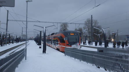 Stadler FLIRT in Baltic station, Tallinn by Joonas08Joonas