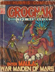 Grognak the Barbarian - War Maiden of Mars