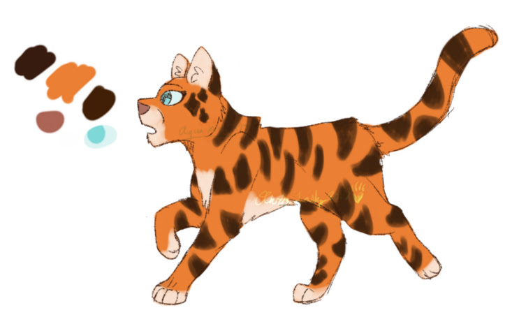 Tigereye Reference (Gift) by kittyrules2003
