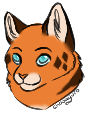 Sketch Headshot (Commission) ($3) by kittyrules2003