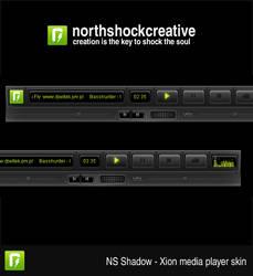Shadow Xion Media Player Skin by NorthShock