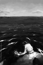 Kylo Ren's dream by LittleChmura