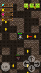 Maze Man Mobile Game by querion44