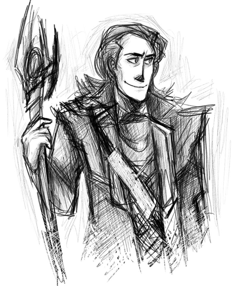 Loki Laufeyson by Melodious-Artist