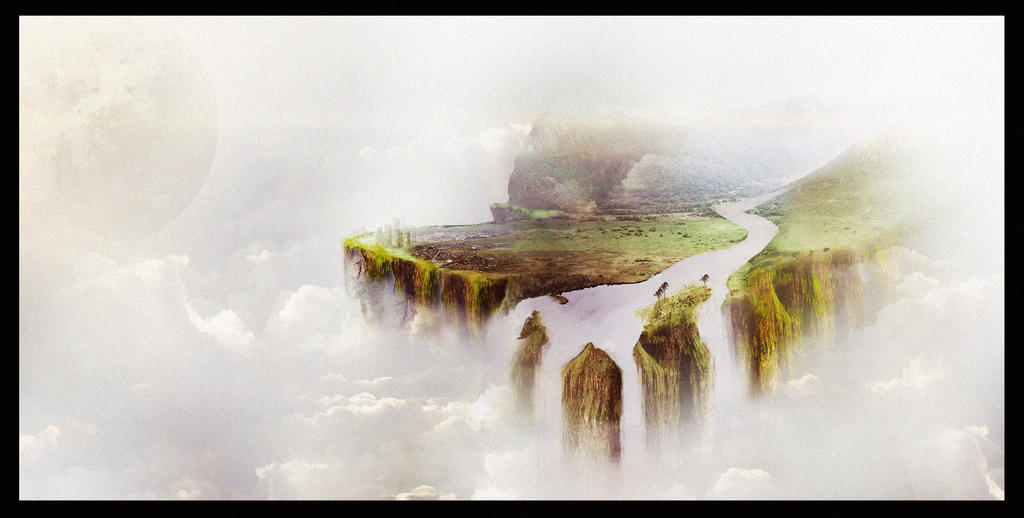 Floating Island Concept by sn00ff