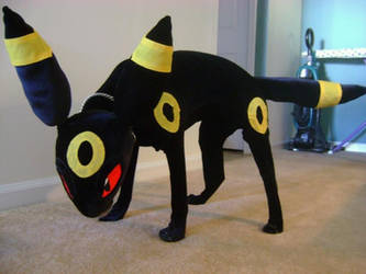 Real Life Umbreon by leafeon-ex