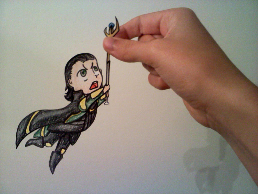 Loki Paperchild by leafeon-ex