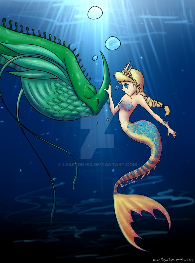 Mermaid Astrid by leafeon-ex