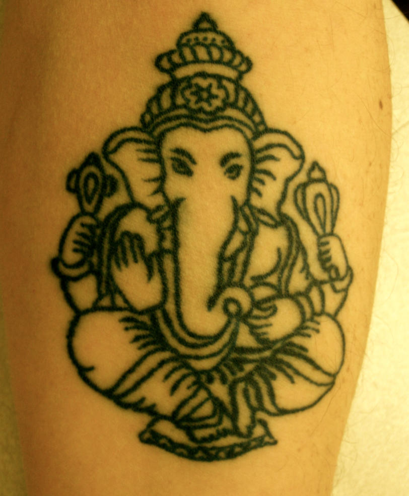 Tattoo Designs Ganesh: Ganesh Tattoo By Louiscypher On DeviantArt