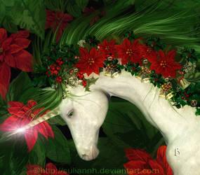 A Christmas Unicorn by SuliannH