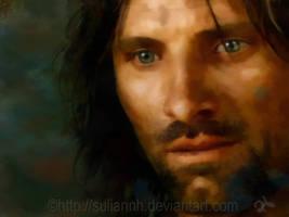 Aragorn Strider by SuliannH