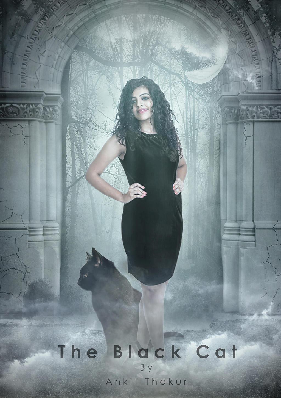 The Black Cat 2000 Rez Photoshop Manipulation by