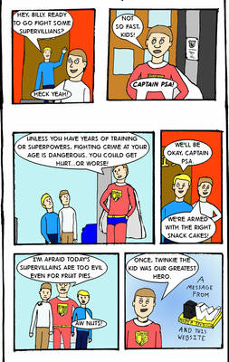 Captain PSA #3: Kids and Villains