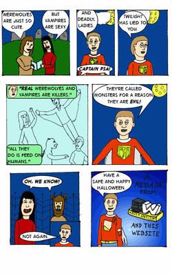 Captain PSA #4 - The Problem With Twilight